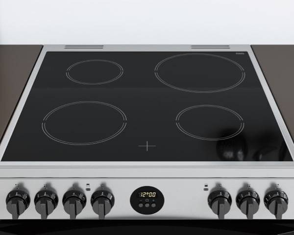 New Indesit Freestanding Double Oven Cooker <strong>Electric</strong> with <strong>Easy Display</strong>