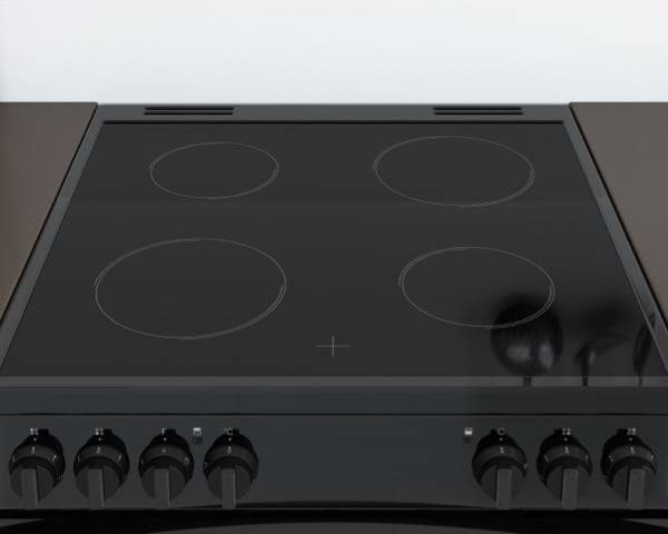 New Indesit Freestanding Double Oven Cooker <strong>Electric</strong> with <strong>Knobs</strong>