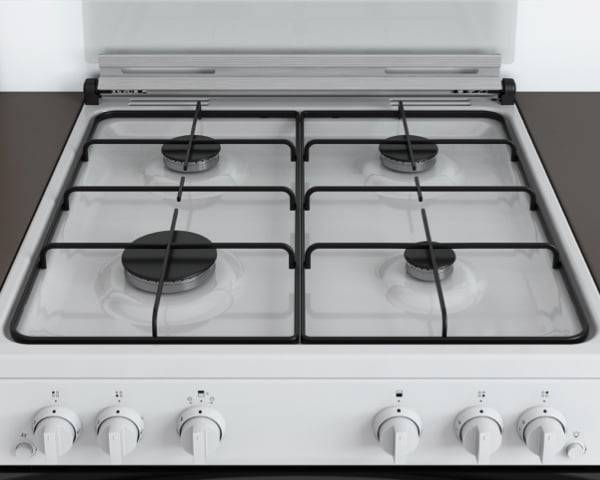 New Indesit Freestanding Double Oven Cooker <strong>Gas</strong> with <strong>Knobs</strong>